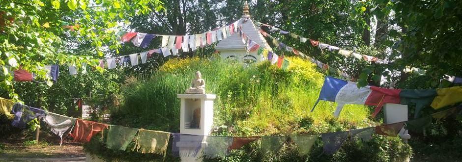 Der buddhistische Pauenhof e.V. in Sonsbeck am Niederrhein
