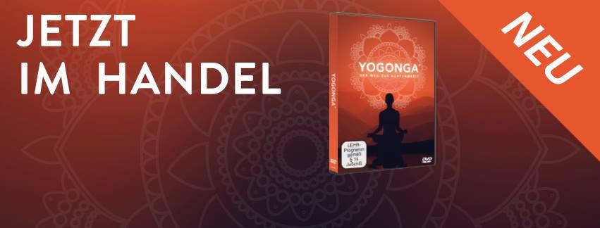 Die YOGONGA ® DVD ist jetzt im Handel